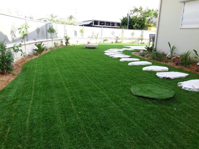פרוייקט דשא סינטטי בבינימינה