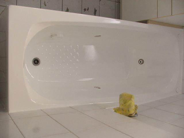 תמונת המחשה לאחר שיפוץ או ציפוי אמבטיה
