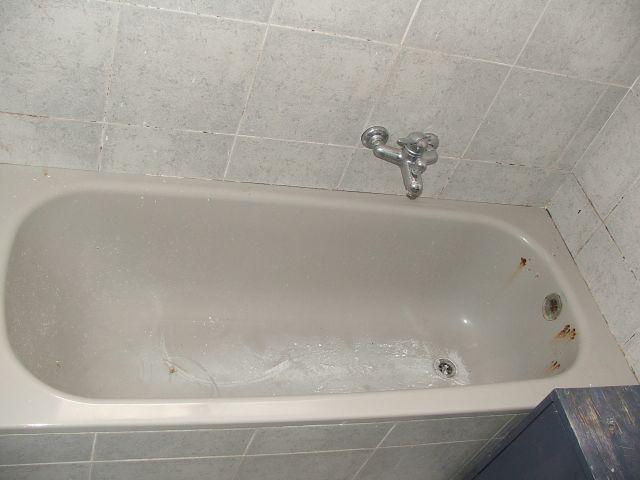 לפני ציפוי אמבטיה
