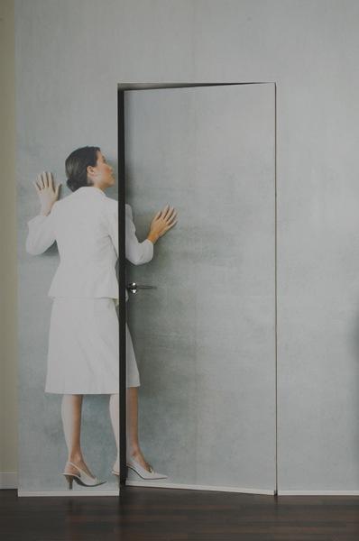 דלת נסתרת משקוף אלומיניום