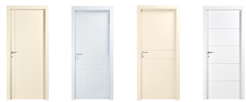 דלתות ״איזי״ בגוון לבן ושמנת