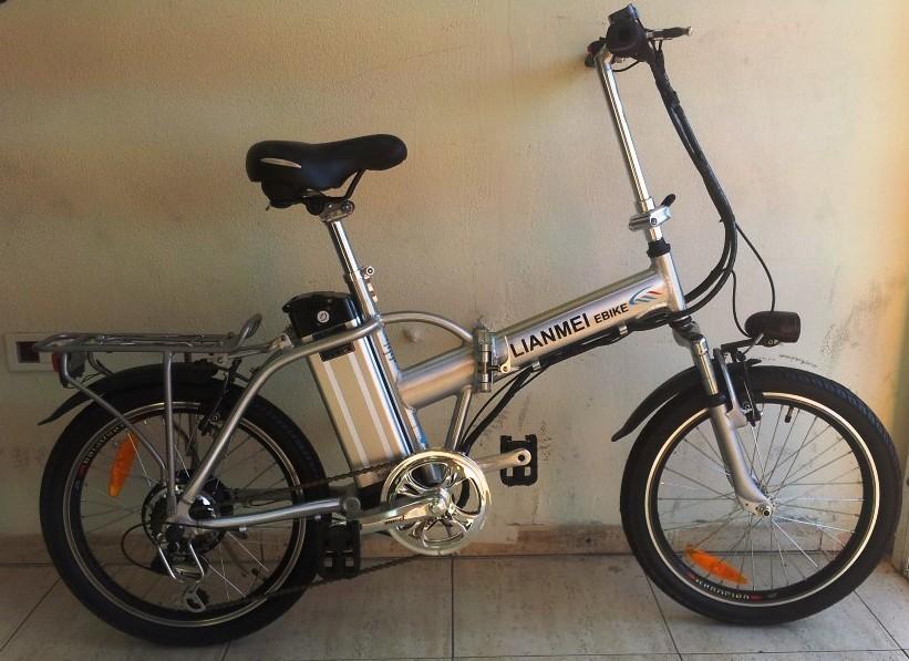 אופניים חשמליים LINMEI 36