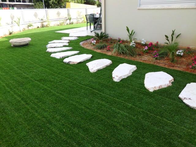 מדהים דשא סינטטי בפרדס חנה, כרכור והסביבה - בית הפרקט RW-46