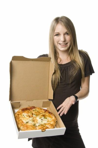קרטון לפיצה המחשה